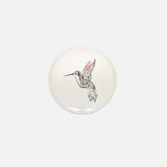 Hummingbird Mini Button