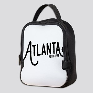 Atlanta Georgia Neoprene Lunch Bag