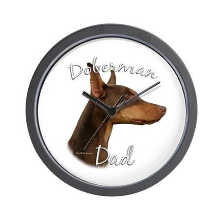 Dobie Dad2 Wall Clock