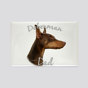 Dobie Dad2 Rectangle Magnet