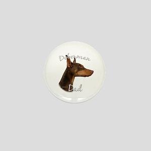 Dobie Dad2 Mini Button