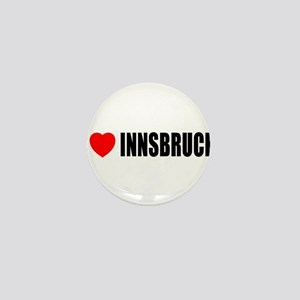 I Love Innsbruck, Austria Mini Button