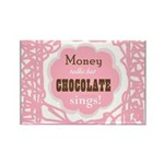Chocolate Sings Rectangle (10 Pack) Magnets
