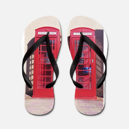 phone booth Flip Flops