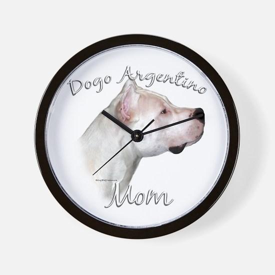 Dogo Mom2 Wall Clock
