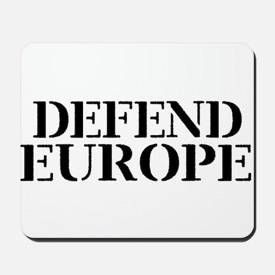 Defend Europe Mousepad