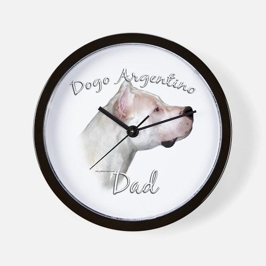 Dogo Dad2 Wall Clock