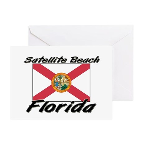 Satellite Beach Florida Greeting Cards (Pk of 10)