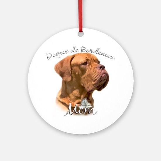 Dogue Mom2 Ornament (Round)