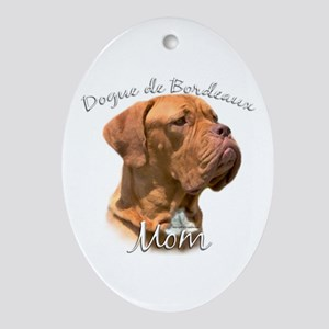 Dogue Mom2 Oval Ornament