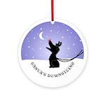 Australian Shepherd Christmas Ornament (Round)