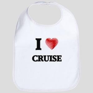 I Love Cruise Bib