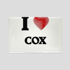 I Love Cox Magnets