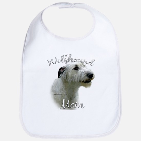 Wolfhound Mom2 Bib