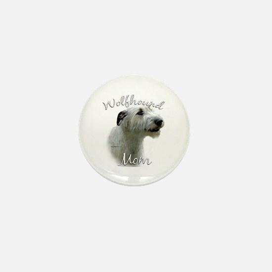 Wolfhound Mom2 Mini Button