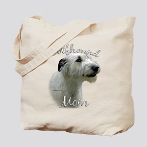 Wolfhound Mom2 Tote Bag