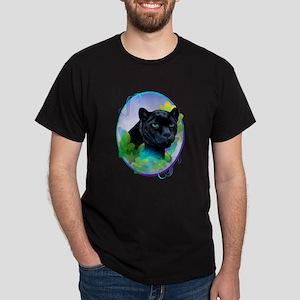 BLACK PANTHER and BLENDING JUNGLE Dark T-Shirt