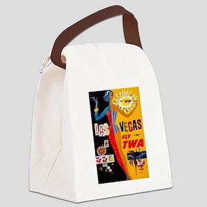 Vintage poster - Las Vegas Canvas Lunch Bag