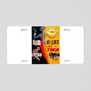 Vintage poster - Las Vegas Aluminum License Plate
