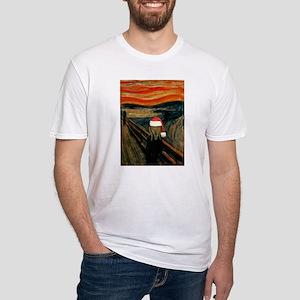 Scream Santa Fitted T-Shirt