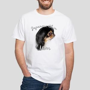 Chin Mom2 White T-Shirt