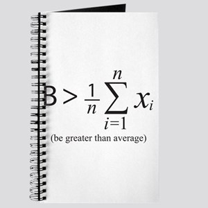 Be greater than average Journal