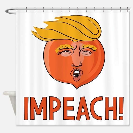 Cute Political humor Shower Curtain