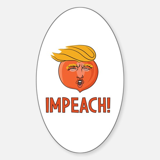Cute Political humor Sticker (Oval)