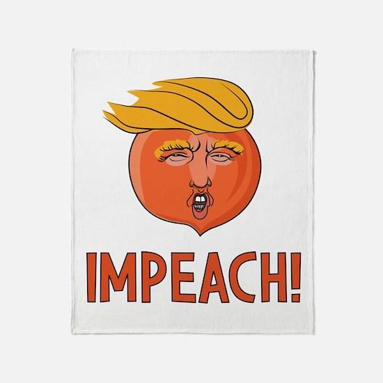 Cute Political humor Throw Blanket