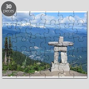 Inukshuk Whistler Puzzle