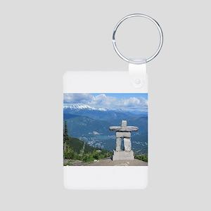 Inukshuk Whistler Keychains