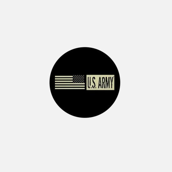 U.S. Army: U.S. Army (Black Flag) Mini Button