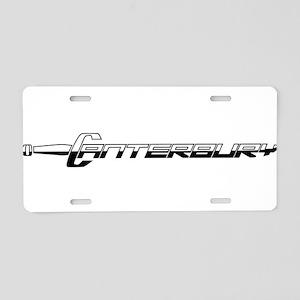 Canterbury Cavaliers Aluminum License Plate