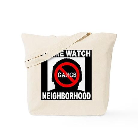 No Gangs Tote Bag