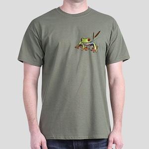 """Frog 1"" Dark T-Shirt"