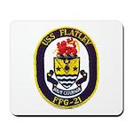 USS FLATLEY Mousepad