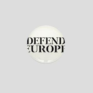 Defend Europe Mini Button