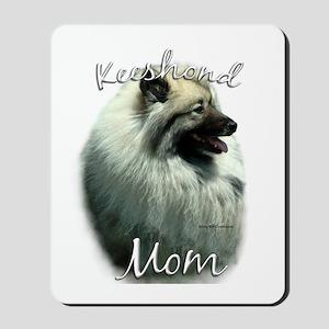 Keeshond Mom2 Mousepad