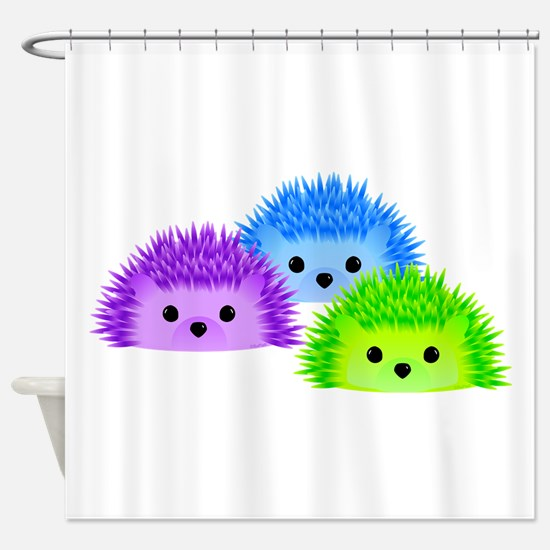 Redgy, Vedgy and Sedgy Shower Curtain