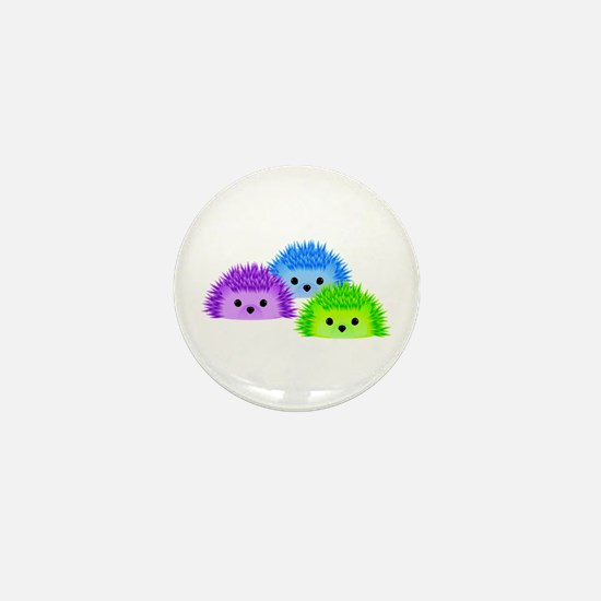 Redgy, Vedgy and Sedgy Mini Button