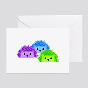 Redgy, Vedgy and Sedgy Greeting Card