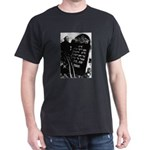 Chaim Dumes Grave Dark T-Shirt with photo on back
