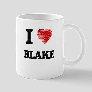 I Love Blake Mugs