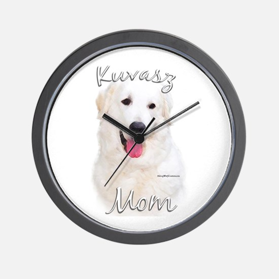 Kuvasz Mom2 Wall Clock