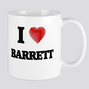 I Love Barrett Mugs