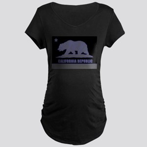 Neon California Republic Maternity T-Shirt
