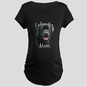Lab Mom2 Maternity Dark T-Shirt