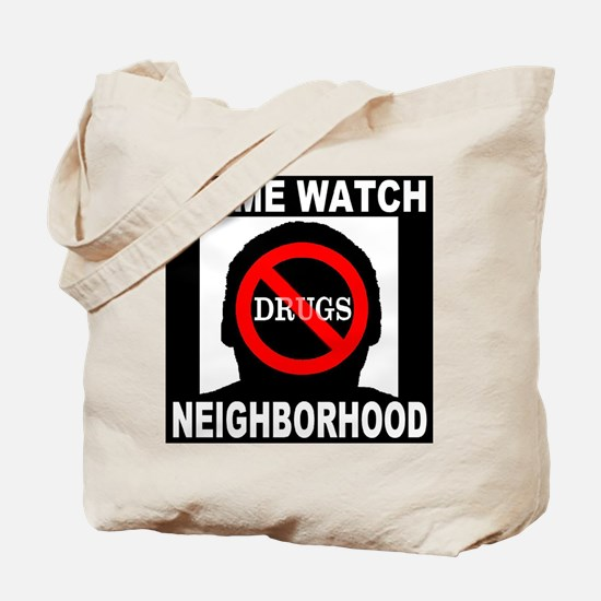 No Drugs Tote Bag