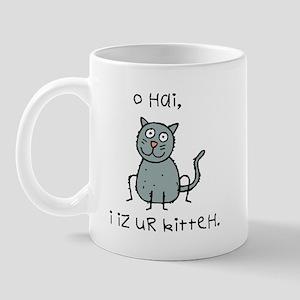 O Hai Kitteh Mug