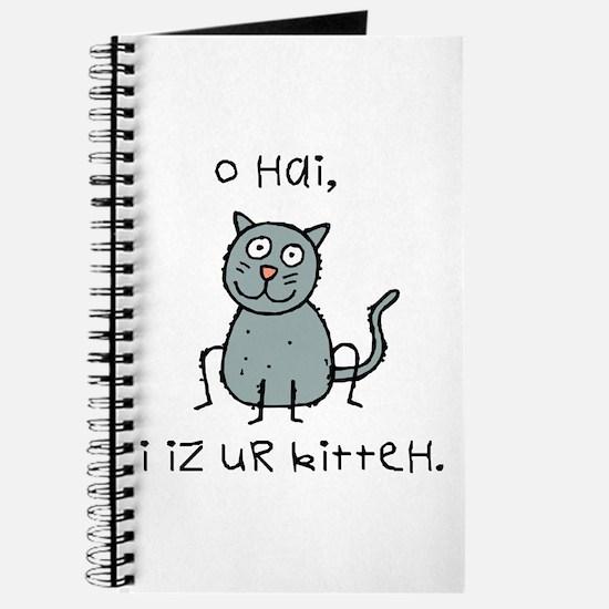 O Hai Kitteh Journal